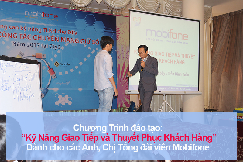 Chương trình đào tạo kỹ năng cho Mobifone lần 2
