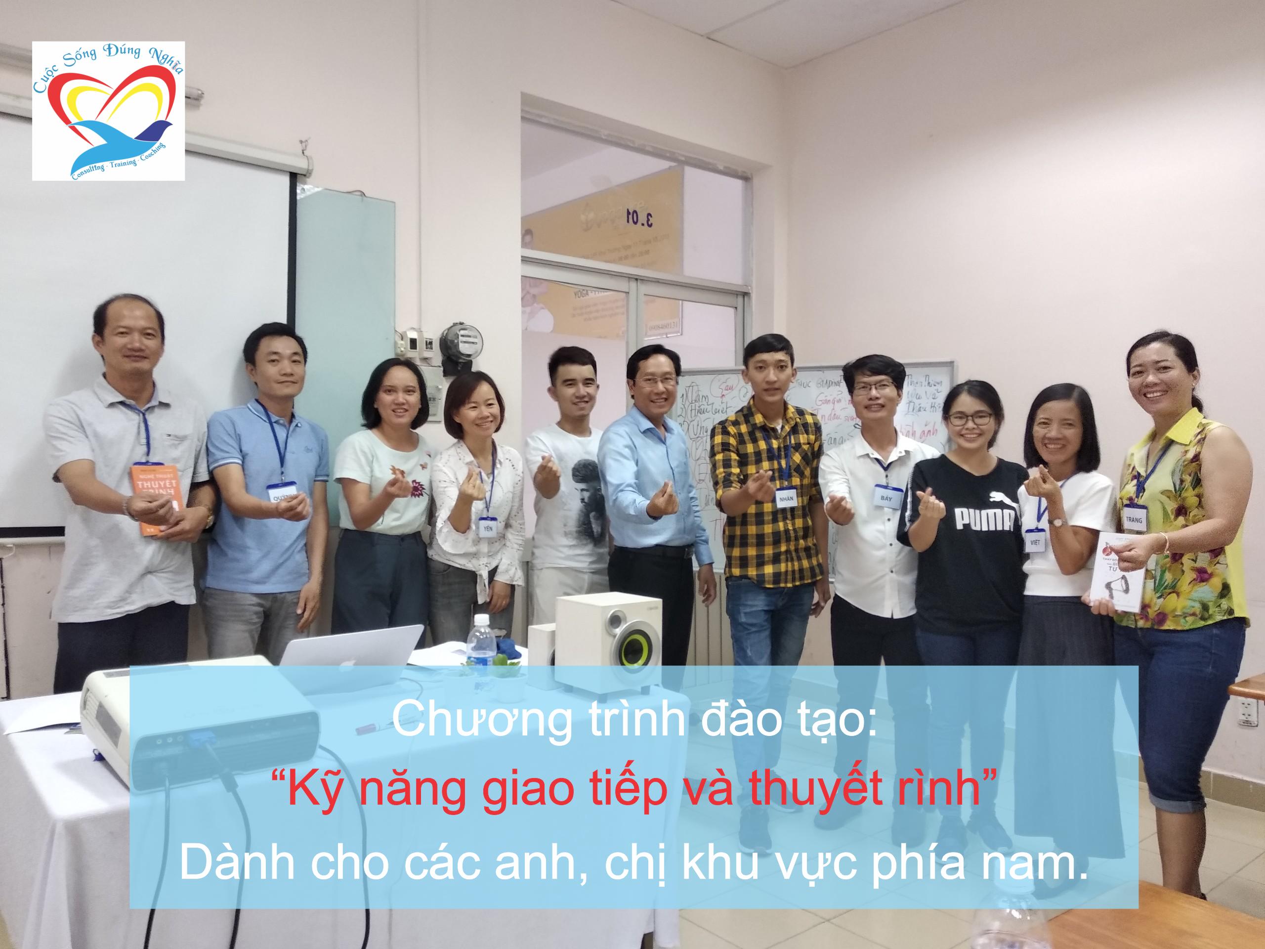 """Đào tạo public: """"Kỹ Năng Giao Tiếp và Thuyết Trình Thuyết Phục"""" tại Hồ Chí Minh tháng 06 năm 2019"""
