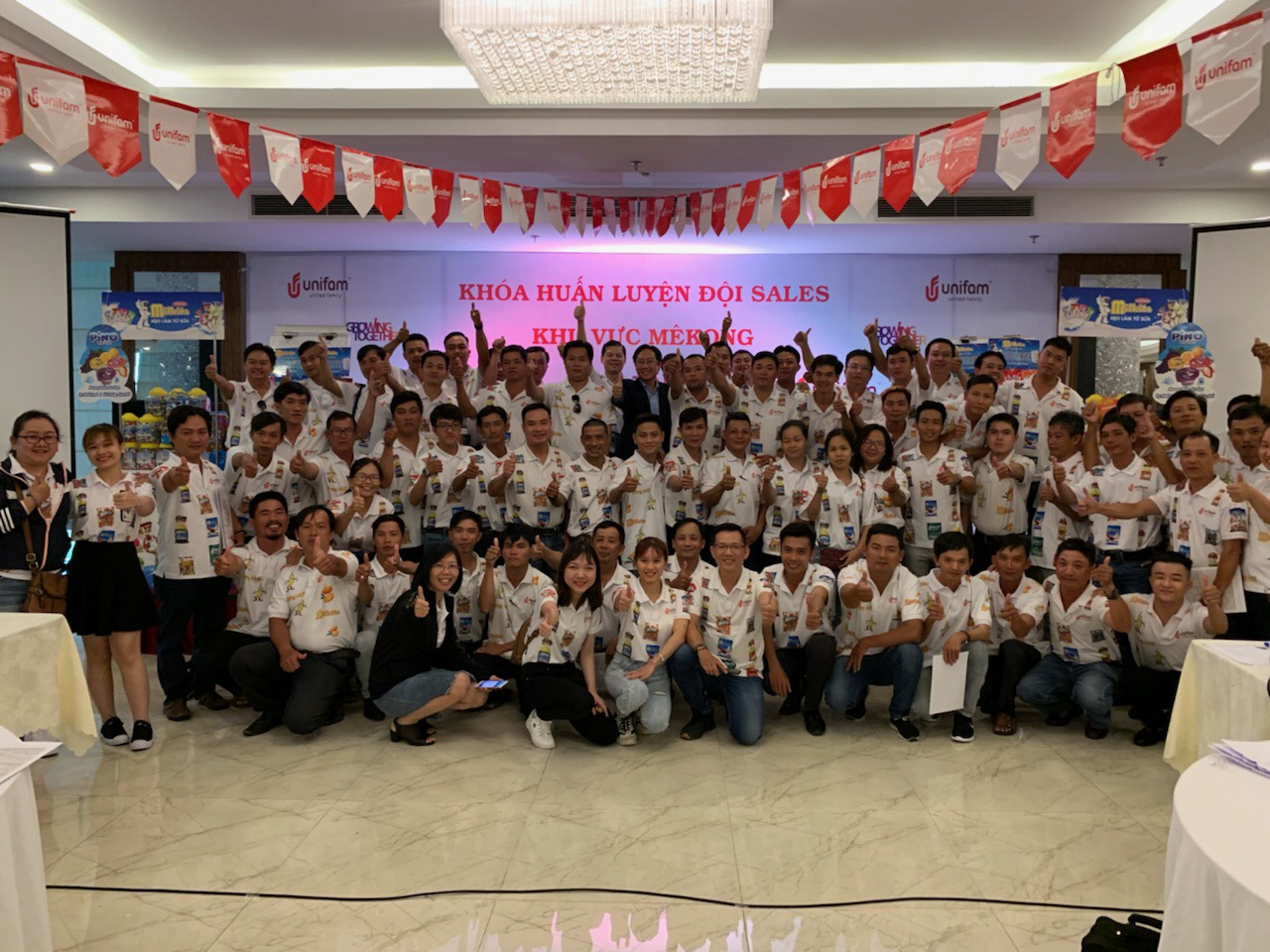 Chương Trình đào tạo cho đội ngũ Sales của Công Ty Unifam Tại Cần Thơ