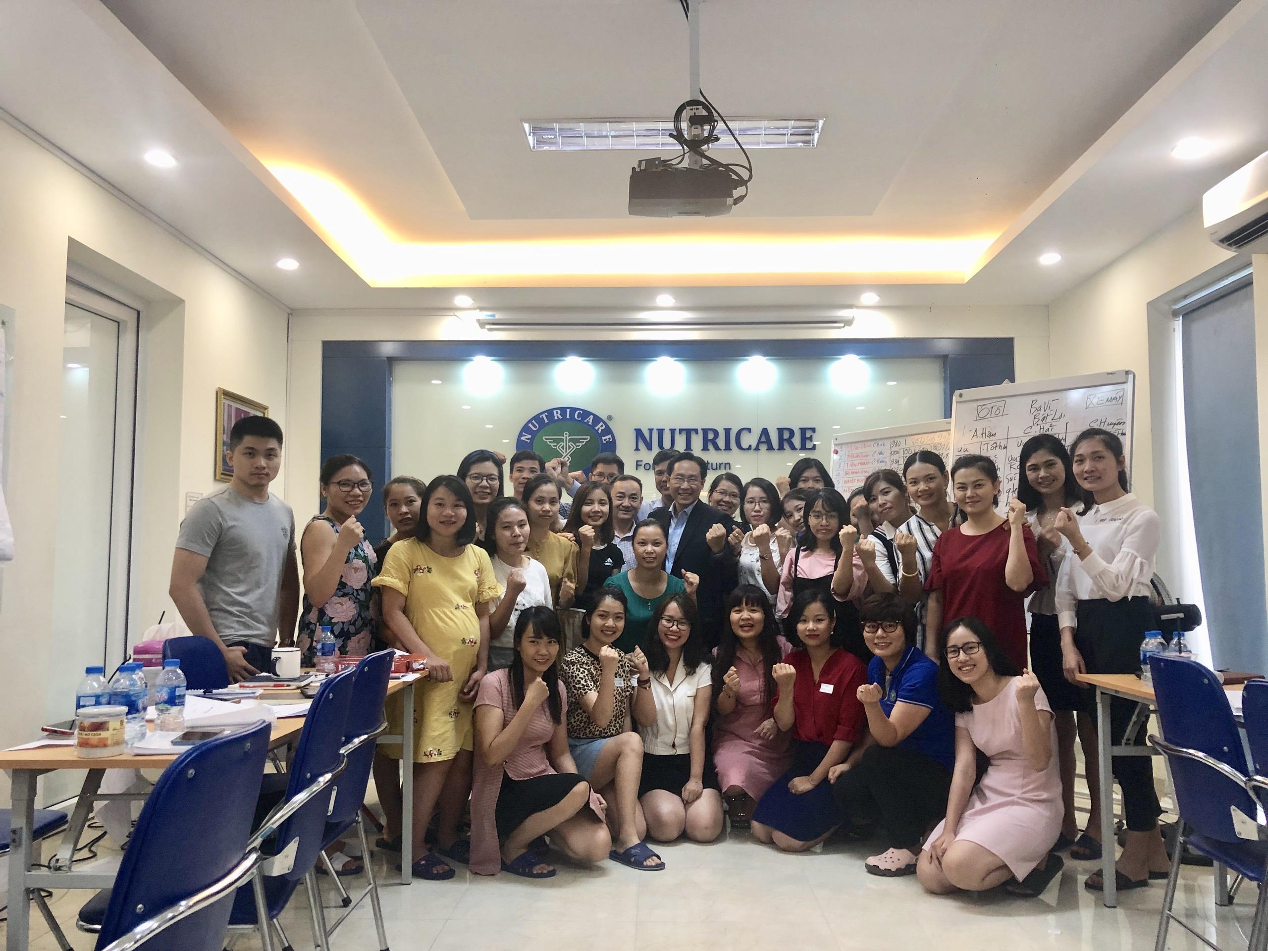 Chương Trình đào tạo kỹ năng đàm phán thương lượng hiệu quả cho Công Ty Cổ Phần Dinh Dưỡng Nutricare Tại Hà Nội