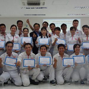 Chương Trình đào tạo tư duy sáng tạo cho Công Ty NISSIN tại Bình Dương