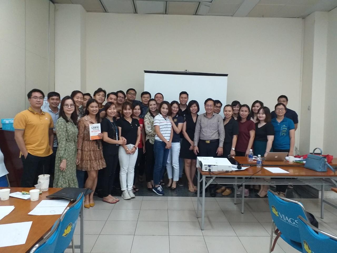 Chương Trình đào Tạo kỹ năng Giao tiếp – phục vụ khách hàng từ tâm cho Tổng Công Ty Hàng Không Việt Nam-CTCP-Trung Tâm Khai Thác Tân Sơn Nhất