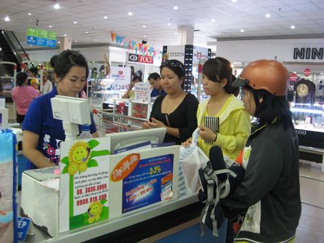 Cách bán hàng trong siêu thị