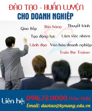 đào tạo cho doanh nghiệp