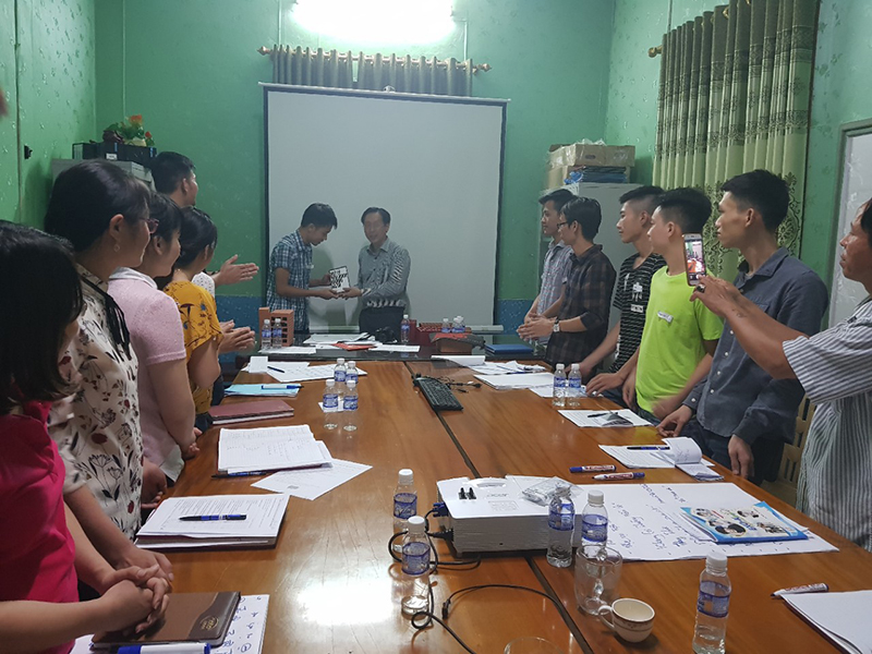 Chương trình đào tạo cho Công Ty Tuynel Đô Lương Nghệ An