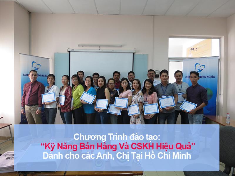 """Đào tạo public: """"Kỹ Năng Bán Hàng Và Chăm Sóc Khách Hàng Hiệu Quả"""" tại Hồ Chí Minh"""