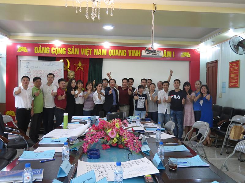 Đào Tạo Kỹ Năng Chăm Sóc Khách Hàng Cho Vicem Hải Phòng