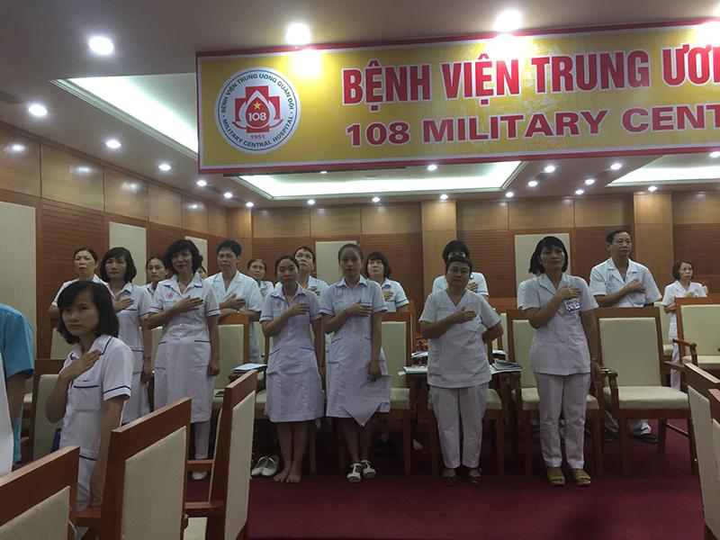 Đào Tạo Nâng Cao Tinh Thần và Trách Nhiệm cho Bệnh Viện 108 Lần 5