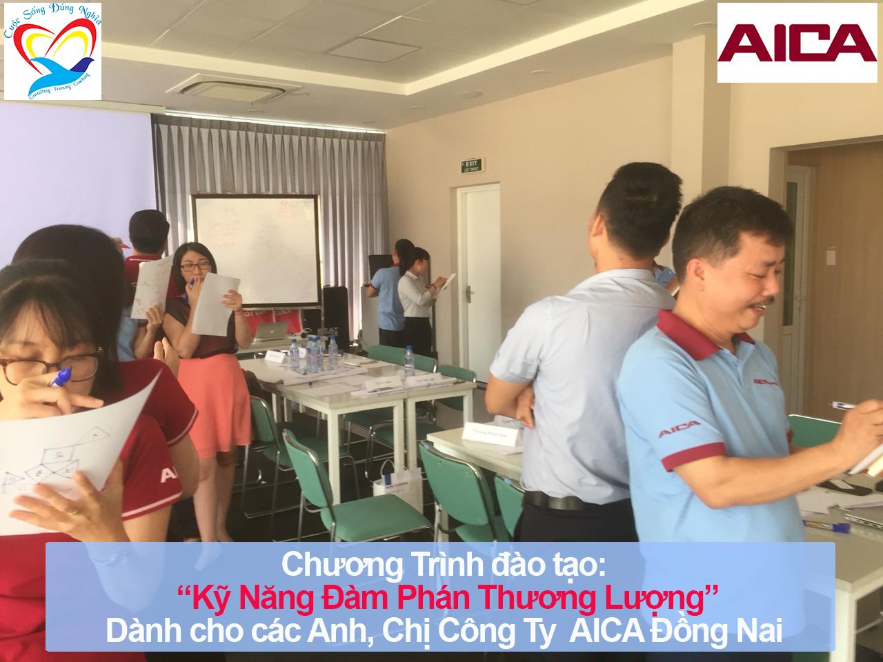 Chương trình đào tạo Kỹ năng Đàm Phán Thương Lượng Cho AICA Đồng Nai