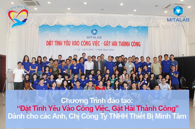 Chương trình đào tạo cho Công Ty TNHH Thiết Bị Minh Tâm