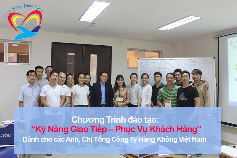 Chương trình đào tạo cho Tổng Công Ty Hàng Không Việt Nam – CTCP-Trung Tâm Khai Thác Tân Sơn Nhất (TOC) – Lần 2