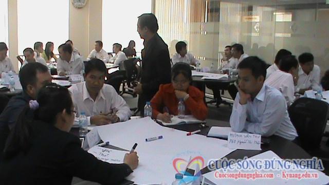 Đào tạo cho Sacombank TP.HCM: Kỹ năng đàm phán thương lượng thành công