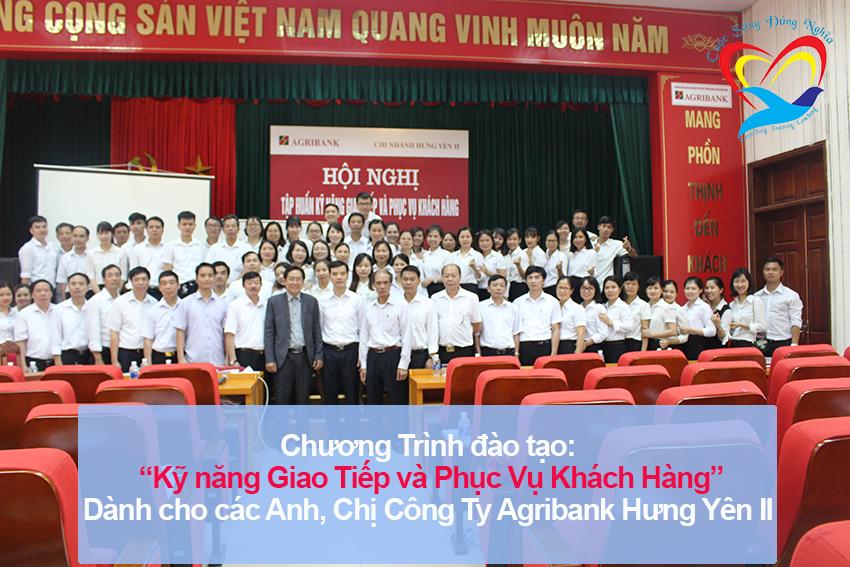 Chương trình đào tạo cho Công Ty Agribank Hưng Yên II