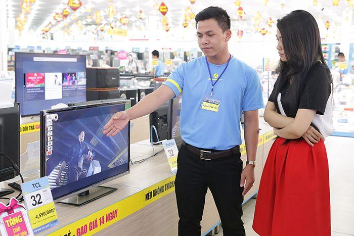 gioi thieu tcl san pham va chinh sach bao hanh tai dienmay com 1 kỹ năng cho nhân viên bán hàng chuyên nghiệp