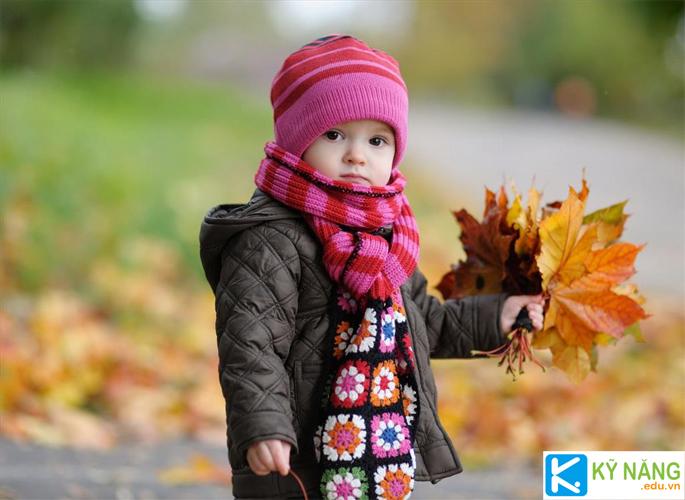 Cho trẻ lớn lên khỏe mạnh và thông minh
