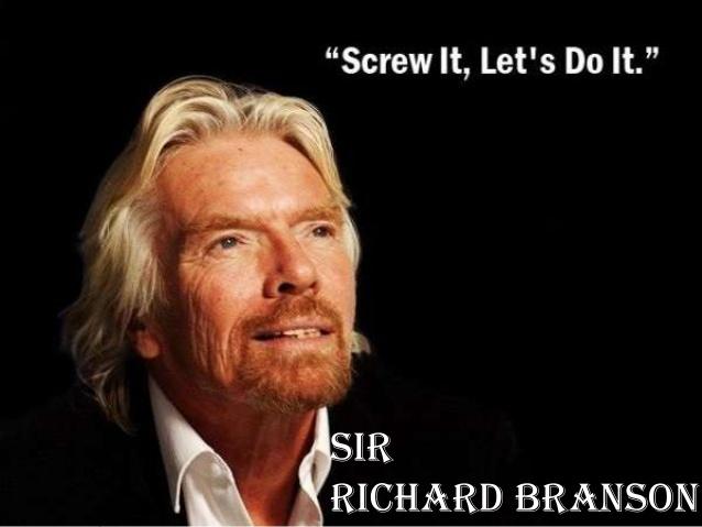 Phong cách lãnh đạo khác người của Richard Branson