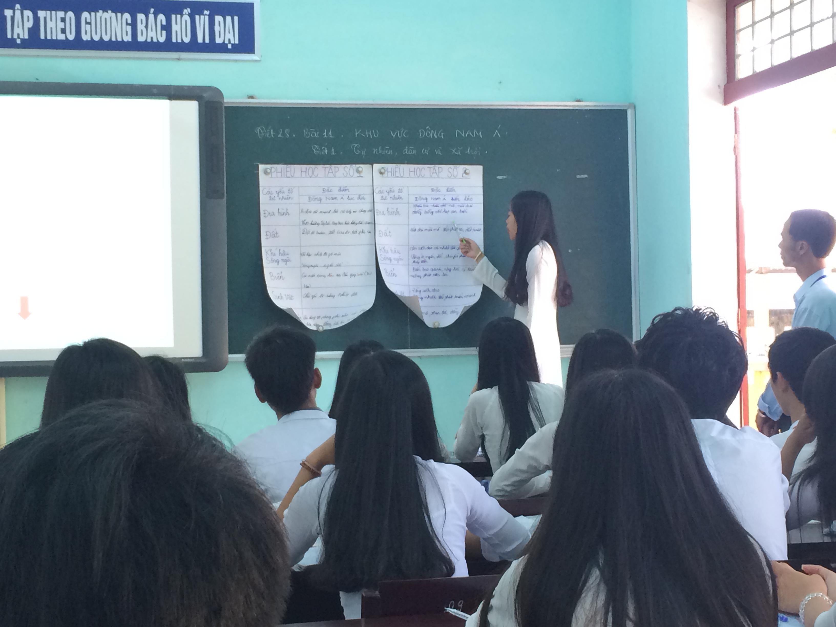 Kỹ năng thuyết trình cho học sinh phổ thông